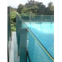 Wholesale Clear Laminated Pool Fencing Glass PVB Single Glass Thick 19 mm from china suppliers