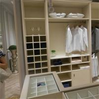 Wholesale 3d Drawings Modern Built In Closet Organizers / Cabinets U Shape Plywood Carcass from china suppliers