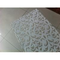 Wholesale Low Carbon Steel Perforated Metal Mesh Decorative Ceiling Panels 1250mm Width from china suppliers