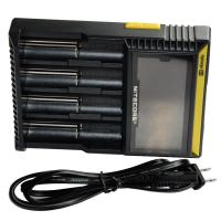 Quality Nitecore D4 Flashlight Battery Charger  EU/US Plug Intelligent Torch Battery Charger for sale