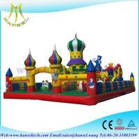 Wholesale Hansel  inflatable slip and slide for commercial for children from china suppliers