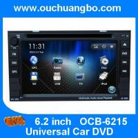 Wholesale Ouchuangbo Auto Media Player for Universal Car DVD GPS USB TV System OCB-6215 from china suppliers
