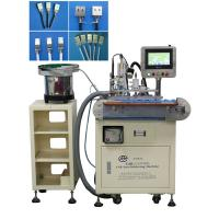 Wholesale Fully Automatic Usb Cable Making Tin Soldering Machine 90 Degree Soldering Angle from china suppliers