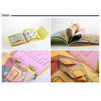 Wholesale Square format DIY childrens book printing / die cutting designs and movable stickers from china suppliers