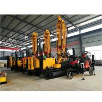 Wholesale 800M Air Drilling Hydraulic Water Well Drilling Machine Mounted Crawler from china suppliers