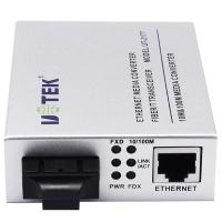 Wholesale High Performance 10 / 100M Fiber Optic Media Converter With SC / FC / ST Interface from china suppliers
