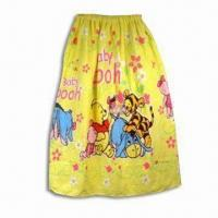 Wholesale Bath Skirt or Towel, Made of 100% Cotton, Various Sizes and Designs are Available from china suppliers
