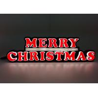 Buy cheap Indoor / Outdoor LED Christmas Neon Sign For Countertop / Wall mounted from wholesalers