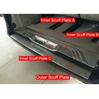 Wholesale New Mercedes Benz VITO 2016 Steel Inner And Outer Tail Gate Scuff Plates from china suppliers