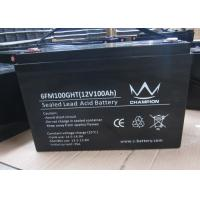 Wholesale 100Ah deep cycle charging lead acid batteries inverter solar Good discharge performance from china suppliers