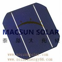 Wholesale Mono 6' (156*156) black or blueMonoCrystalline Silicon Solar Cell from china suppliers