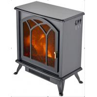 Wholesale Electric stove  TF-1313D freestanding fireplace realistic flame burning log for living room from china suppliers