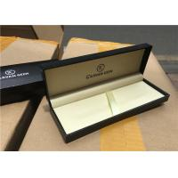 Wholesale Solid Paper Pen Gift Boxes Luxury , Wooden Pen Case Matt Lamination from china suppliers