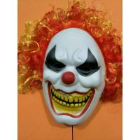 Wholesale Red Nose Scary Clown Full Face Halloween Party Mask Cosplay Mask from china suppliers