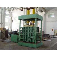 Wholesale Larger Density 160 Tons Vertical Baler Machine For Carton / Waste Cloth Sacks from china suppliers