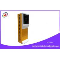 Wholesale Access control automatic car park payment machines with crash barrier from china suppliers