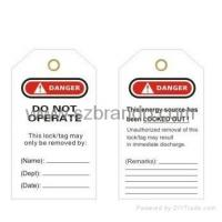 Wholesale T01/T02 Safety Tagout , Safety labels, Warning Tapes from china suppliers