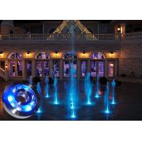 Wholesale DMX RGB IP68 Underwater LED Fountain Lights Anti Corrosion for Garden from china suppliers