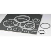 Wholesale FDA Custom Molded Silicone Rubber Gasket , Heat Resistant Rubber Seal Ring from china suppliers