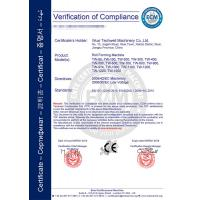 Wuxi Techwell Machinery Manufacturing Co.,Ltd Certifications