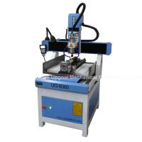 Wholesale 3D CNC Metal Engraving Machine 4 Axis with DSP A18 Control UG-6060 from china suppliers