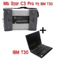 Wholesale Mercedes Benz Star C3 Diagnostic Tool with IBM T30 for Mercedes Benz Cars and Trucks, Multi-Language from china suppliers