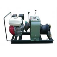 Wholesale China supplier 3 Ton  cable winch with Honda engine for  electric power construction from china suppliers
