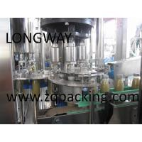 Wholesale mango juice orange juice apple juice washing filling capping machine ,juice making machine from china suppliers