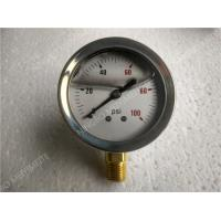"Wholesale 2"" ( 50mm ) Bottom Entry Liquid Filled Manometer Glycerine Pressure Gauge With Bayonet Bezel from china suppliers"