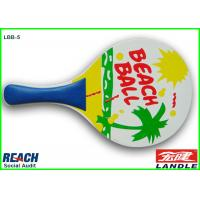 Wholesale Plywood Beach Ball Racket from china suppliers