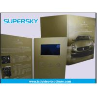 Wholesale Rechargeable LCD Video Brochure , Video In Print Brochure For Advertising from china suppliers