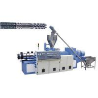Buy cheap Conical Twin Screw Extruder-extruder-Plastic Pipe Extruder-Extrusion Line from wholesalers