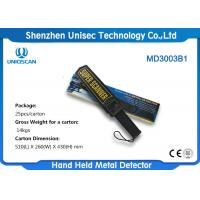 Wholesale Standard 9V Battery Portable Hand Held Metal Detector With ABS Material from china suppliers