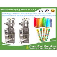 Quality Automatic ice pops,pouch filling machines vertical packing machine bestar packaging machine for sale