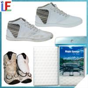 Quality High Density Compressed Nano Sponge Leather Cleaning eraser Melamine Foam for sale