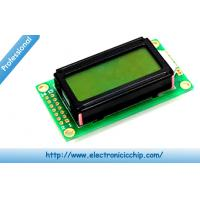 Wholesale Basic 8x2 Character LCD Display Black on Green 3.3V , HD44780 display screen from china suppliers