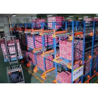 Buy cheap FIFO Warehouse Selective Adjustable Steel Radio Shuttle Shelving from wholesalers