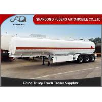 Wholesale Steel Fuel Tanker Semi Trailer For Petrol / Diesel / Crude Oil Transportation from china suppliers