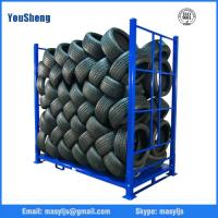 Wholesale Industrial Warehouse Stacking Rack, Stillage Rack, truck tire rack from china suppliers
