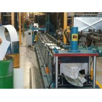 Wholesale Water Gutter Cold Metal Roll Forming Machines , Three Phases Roll Former Machine from china suppliers
