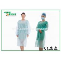 Wholesale Medical Protective Clothing / Blue Yellow Surgical PP Isolation Gown from china suppliers