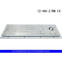Wholesale Rugged 65 Keys Industrial Kiosk Keyboard With Short Keys And Trackball from china suppliers