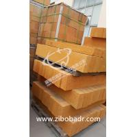 Wholesale Heat Resistant Kiln Refractory Bricks Al2O3 30% - 65% , Low Bulk Density Fireclay Brick from china suppliers