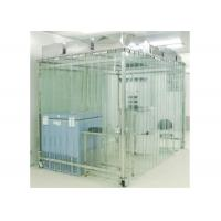 Wholesale Movable Vertical Air Flow SoftWall Clean Room 304 Stainless Steel Cleanroom from china suppliers