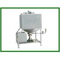 Quality Emulsification Tank - Vertical - Square Tanks for Blending Mixing Liquid Fluid Drinks for sale