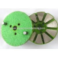Wholesale 10 Seg Metal Grinding Pads With 2 Pin from china suppliers