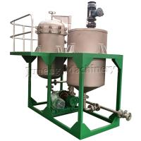 Wholesale Compact Size Low Capacity Vertical Metal Leaf Filter Machine With Tank from china suppliers