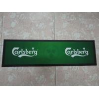 Wholesale Eco-Friendly Beautiful Rubber Bar Mat Colored With Logo Printing from china suppliers