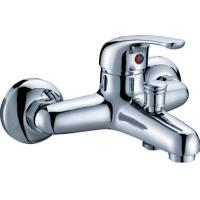 Wholesale Modern Polished Two Hole Faucet , Ceramic Cartridge Bathtub Mixer Tap from china suppliers