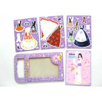 Wholesale Novelty Design Your Own Magnetic Dress Up Toys Puzzles for Children Early Education from china suppliers